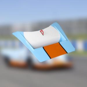 Capot avant Porsche 917 – Gulf