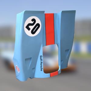 Capot arrière Porsche 917 – Gulf