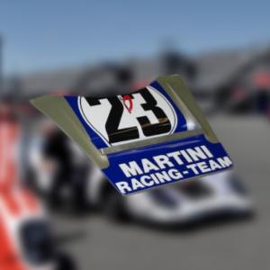 Capot avant Porsche 917 – Martini