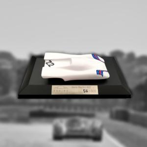 Miniature Porsche 917 Martini blanche