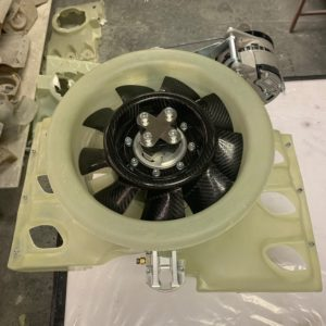 Turbine horizontale